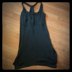 Trouve Black Back Twist Dress